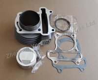 Wholesale 52mm big bore kit mm Cylinder Set for Scooter ATV QMB GY6 cc