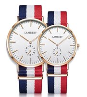 Wholesale 2017 Fashion Luxury Brand Silver DW Watch Style Nylon Strap MM Daniel Men Women Wellington Wristwatch montre femme