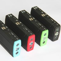 Wholesale harging Starting Systems Batteries Accessories New Portable mAh Car Jump Starter USB Power Bank Charger Emergency Start Auto M