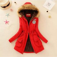 best price down jacket coat - Best Price For Women Down Coat Parka Casual Outerwear Military Hooded Winter Fur Long Sleeve Jacket