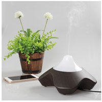 Wholesale CAROLA Aroma Diffuser ml Wood Ultrasonic Aroma Diffuser LED Light Changing Air Cleaner Aromatherapy HumidifierGlass Aromatherapy Diffuse