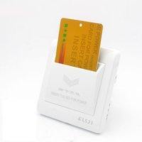 Wholesale High Grade Hotel Magnetic Card Switch V A energy saving switch Insert Key for power second Time Delay
