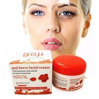 berry skin - HOT Natural Himalayan Goji Berry Facial Cream with Hyaluronic Acid Facial Skin Care Anti Wrinkle Hydration Formula Cream