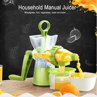 Wholesale Multifuctional Manual Juicer Lemon Squeezer Household Juice Extractor Ice Cream Maker Fruit Juice Maker Kitchen Accessories