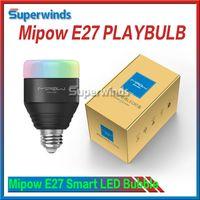 Wholesale Mipow E27 PLAYBULB Smart LED Bubble Ball Bulb Light V V W via DHL