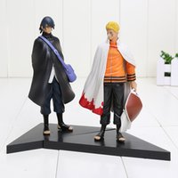 Wholesale set Naruto Uzumaki Naruto Uchiha Sasuke Pair Set the th PVC Figure Model Toy