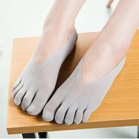 amazing fingers - Fashion Summer Thin Five Toe Sock Slippers Women Lady Invisibility Socks Five Finger Socks Amazing Jl