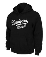Wholesale Excellent Quality Los Angeles Dodgers Baseball Hoodies Big Tall Logo Pullover Sweatshirt Hoody