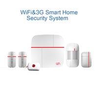 Wholesale WiFi G Smart Touch Sensor Wireless Internet Smart Home Business Security Safety Alarm Burglar System