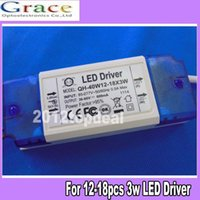 Wholesale Constant Current Driver for W High Power LED AC85 V w mA