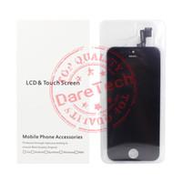 Precio de Pantallas digitales-Para la muestra Negro Grado A +++ LCD Pantalla táctil piezas digitales del reemplazo de la pantalla del digitizador para el iPhone 5 5S 6 6S 6 más 6s más