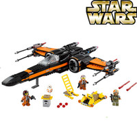 Wholesale LEPIN Building Blocks Super Heroes Star Wars First Order Special Forces TIE Fighter F O S F Fighter MiniFigures boy toys