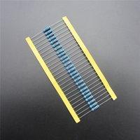 Resistor de la película de metal de la Venta al por mayor-50pcs 1W 0.22 ohm +/- 1% RoHS Plomo libre DIY KIT PARTE resistor paquete resistencia
