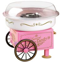 cotton candy machine - 110V V Cotton Candy Maker Machine Floss Candy Machine Vintage Retro Carnival Kids Hard Sugar