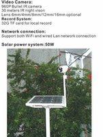 al por mayor establecimiento de una red verde-2017 la venta caliente del año, antena al aire libre sin hilos al aire libre de la red 3G de la energía IR llevó la cámara del IP de la visión nocturna con el disco duro 1TB