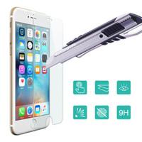 al por mayor gorila iphone corning-Película de cristal templada superior del protector de la pantalla de cristal templado ultrafino del gorila de 0.15mm Corning para el iphone 6 6s más 5 5s 5C 5G