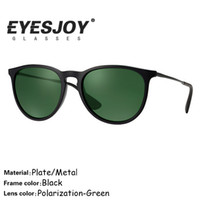 alloy sheet metal - Brand Sunglasses for Men Sheet Metal Black Frame Classic Green Lens Women Beach Outdoor Travel Sunglasses UV400 mm with Original Box