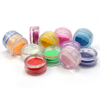 acrylic glitter mix kit - set Mix Color D Acrylic Powder Pigment Glitter Dust Set Manicure Beauty Decoration Makeup Nail Art Tool Kit New