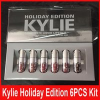 best lipstick - kylie holiday edition mini kit KYLIE lipgloss Jenner Matte Liquid Lipstick Lasting best christmas gift