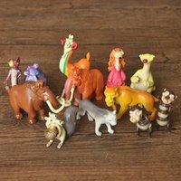 achat en gros de jouets d'âge de glace-12 pcs / set Ice Age 5 jouets d'action jouets 3-6cm Cute PVC modèle poupées Anime Brinquedos jouets pour les enfants cadeau