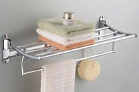 Wholesale Bath towel holder Towel bar cm stainless steel with hook