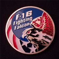 air force challenge coin - Usaf F Fighting United Stated Air Force Challenge Coin Silver Plated Commemorative Coins Craft