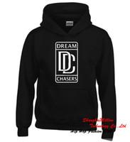 animal chaser - Hip Hop Dream Chasers Logo Rick Ross Wale Fleece Hoodie Unisex Meek Mill Sweatshirt S XL DC0310TT