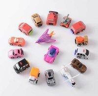 Wholesale 2016 New item mini little car model children gift set fancy toy car plastic multi color plastic mini back model car educational toys