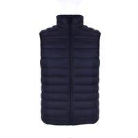 Wholesale Duck Down Men s Vest Ultra Light Thin Man Sleeveless Jacket Pockets Autumn Winter Warm Vest Men Outwear Solid Waistcoat