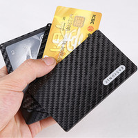 Wholesale Cool design luxury wallets carbon fiber kickstarter with magnet kaufen modular mini wallet for cards