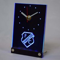 Wholesale tnc1007 FC Utrecht Football Club Eredivisie D LED Table Desk Clock