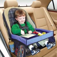 automobile laptop stand - Multifunctional Baby Car Play Tray Table Waterproof On The Go Snack Tray Easy to clean Automobile Laptop Stand