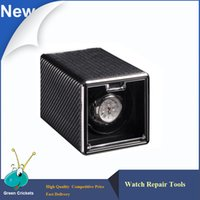 Wholesale Latest Carbon fiber Leather Automatic Watch Winder box Ultra quiet Motor Modes Watch Winder