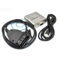 Wholesale 2016 New Universal A OBD2 ELM327 Aluminum Box USB Cable Latest V2 Software Auto Testing Tool