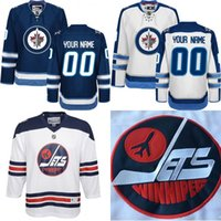 authentic jets jerseys - Customized Men s Winnipeg Jets Custom Any Name Any Number Ice Hockey Jersey Authentic Jersey Heritage Classic Mix Ord size S XL