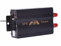 al por mayor motocicleta alarma remota-Car GPS Tracker Coban TK103B GSM GPRS Seguimiento del sistema GPS103B Motocicleta de la alarma Ubicación Tracker Control remoto Cut Off Oil Power