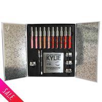 Wholesale Kylie Holiday Big Box Collection Cosmetics Kit PREORDER INTERNATIONAL Holiday Kylie Jenner Liquid Lipgloss makeup kit