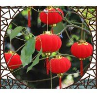 Wholesale Chinese characteristic red lanterns decorates spring festivals and wedding