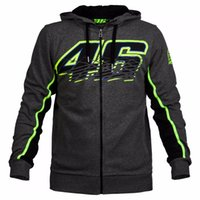 Wholesale 2016 Brand New Men s Clothing Cotton Rossi VR Hoodies Sweatshirts MotoGP Hoodies Motorcycle Casual Winter Sports Jackets