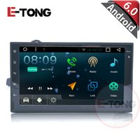 Wholesale Android Car DVD Navigation Player For Double Din V Universal Suitable For Truck Head Unit with Radio Bluetooth G Wifi