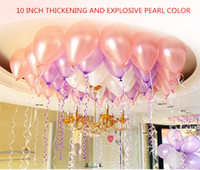 Wholesale Thicken Balloon Ball Helium Inflable Giant Latex Balloons For Wedding Birthday Party Decoration