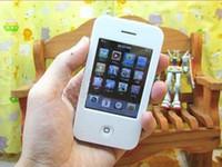 Vente en gros nouvelle 2.8 8gb écran tactile I9 4G style Mp3 Mp4 MP5 joueur caméra jeu gratuit ship Mp3 Mp4 MP5 Player
