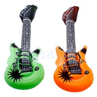 Wholesale X Inflatable Cool Guitar Musical Instrument Fun Holiday Party Music Toy New HG1753