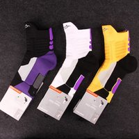 basketball friction - KB Generation Elite Socks Thick Terry Sweat Absorbent Anti Friction Bradyseism USA Basketball Athletic Socks For Men With High Quality
