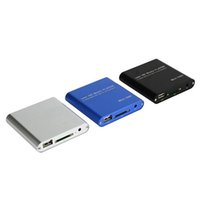Wholesale Mini Media Player P Full HD Multimedia Player With IR Remote Support MKV RM SD USB SDHC MMC HDD HDMI