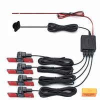 aids sensors - 4 Sensors Simple Parking Sensor Alarm By Three step Bibi Sound Car Reversing Aid Multiple Color No Monitor