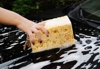 Wholesale Automobile thick coral sponge clean rub home use clean brush car cleaning