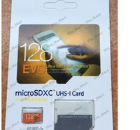 Wholesale EVO GB Micro SD Card Class10 UHS MicroSDXC TF SD Memory Card with SD Adapter for Mobile Phones Tablet PC Car MB s
