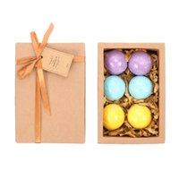 bath set packed - LAVEN Handmadewith Bath Bombs Gift Set Packs Scents Eucalyptus Lavender and Orange with Organic Natural Ingredient Bath Bombs spa oil