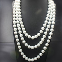 Wholesale In the new high end wedding dinner high grade popular women s fashion natural pearl cm necklace size mm